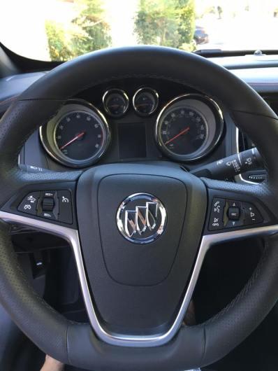 Buick Cascada 2017 interior 1