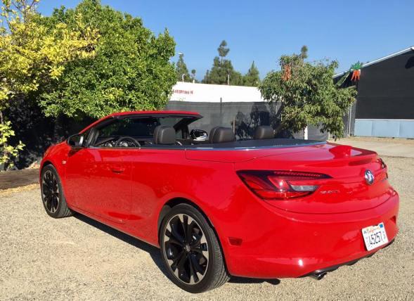 Buick Cascada 2017 side