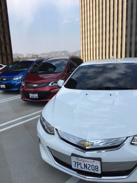 Chevy Volts and Bolts Century City Boltaversary
