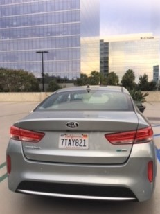 Optima Hybrid in Aluminum Silver