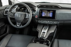 Clarity interior arranged with the driver in mind