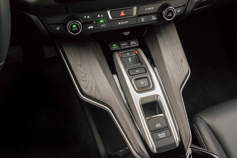 push buttons for shifting