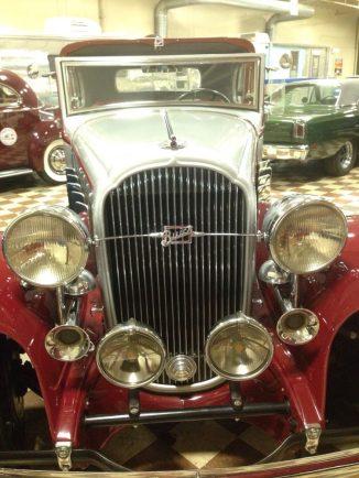 classic car at murphy