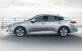 Kia Optima Hybrid side2