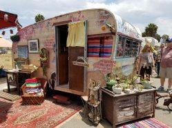 side vintage trailer