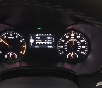 Kia Optima 2017 dash display