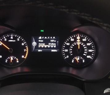 Kia Optima 2017 dash display