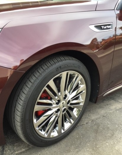 Kia Optima 2017 wheel SXL