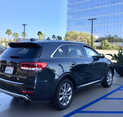 2018 Sorento in Platinum Graphite
