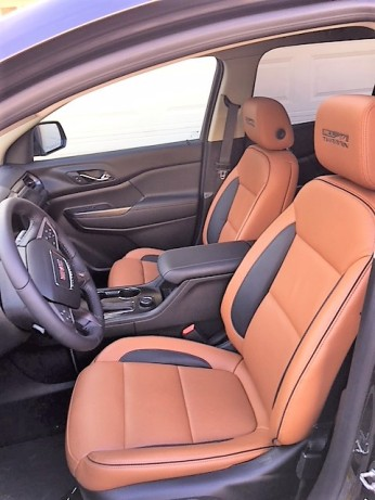 GMC Acadia all terrain interior