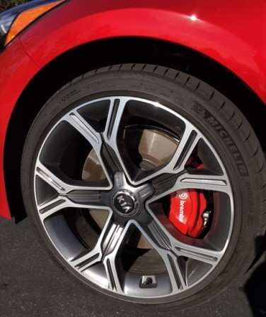 stinger wheel and brembo
